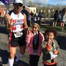Jose and his kids racing a 5K